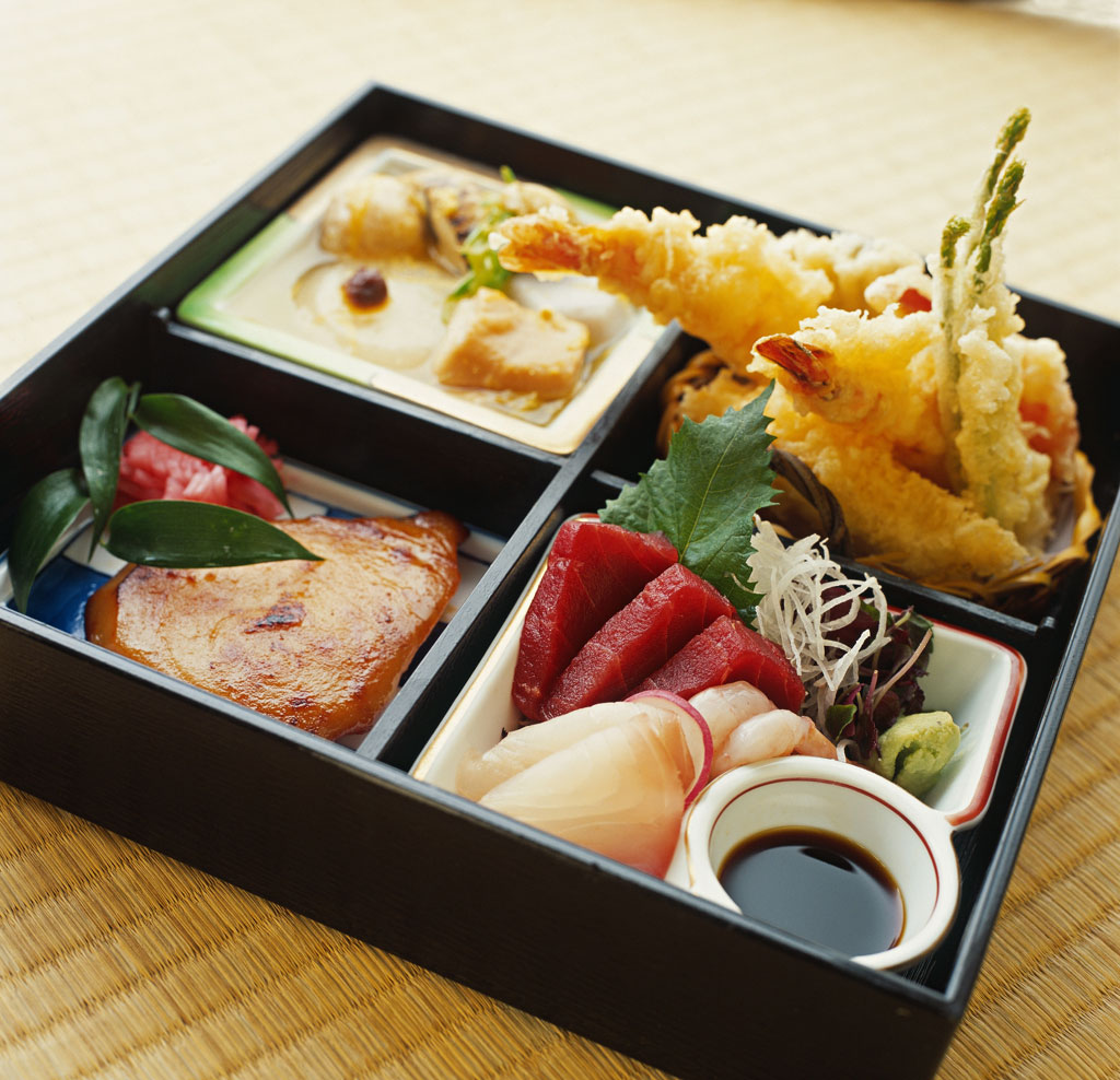 Bento box phoenix revolution for Authentic japanese cuisine