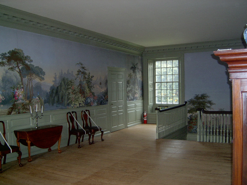Schuyler Mansion upstairs